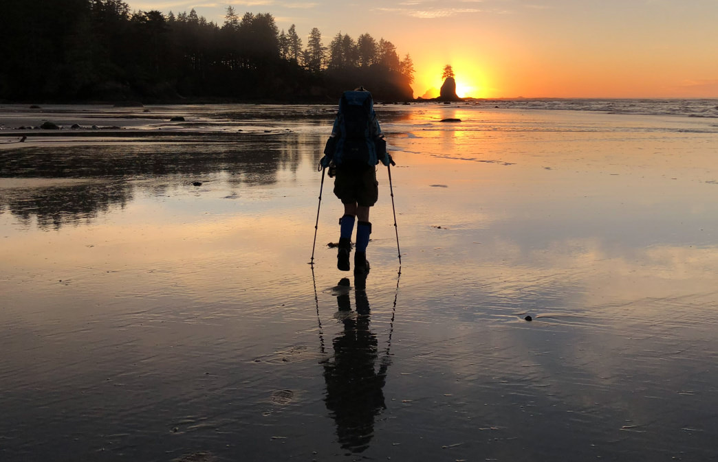 How to Survive Backpacking Trips in the Dead of Summer